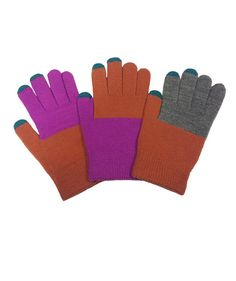 3-of-a-kind Gloves | Here, unique ideas for Christmas gifts teenagers and tweens will love. Find more great gifts for everyone on your list here.
