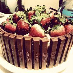 Kit-Kat Cake.