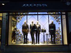 Hugo Boss, Christmas Windows, VM Display, 2013, London
