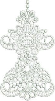 Sue Box Creations | Download Embroidery Designs | 24 - Taj Border Cnr