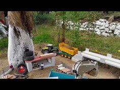 BRUDER BWORLD / Bruder Claas Tractor Bruder  Actross Truck are working