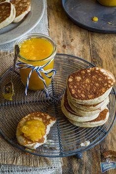 Placuszki kokosowe (na mące kokosowej) Dumplings, Sugar Free, Pancakes, Clean Eating, Paleo, Cooking Recipes, Gluten Free, Baking, Pierogi