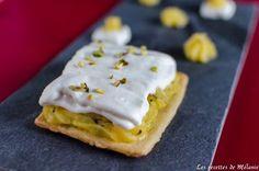 Tarte citron basilic - Les recettes de Mélanie