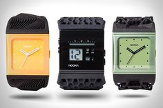 Something we liked from Instagram! 3D-printed watches by Nooka #3dprinting #3dprinten #3Dprinter #3d #print #technology #future #design #nooka #watches #style #fashion by smart3dprint check us out: http://bit.ly/1KyLetq
