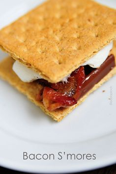 Bacon Smores Recipe from addapinch.com...now we're talking.