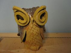 1970's Pottery Was a hugh owl collector. It almost became an obsession