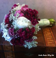 sweet william wedding flowers | Sweet William bridal bouquet