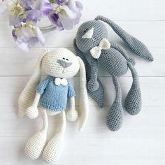 Mesmerizing Crochet an Amigurumi Rabbit Ideas. Lovely Crochet an Amigurumi Rabbit Ideas. Crochet Baby Toys, Easter Crochet, Cute Crochet, Crochet Animals, Crochet Dolls, Crochet Bunny Pattern, Crochet Rabbit, Crochet Patterns Amigurumi, Amigurumi Doll