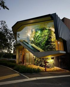 Modern House Design & Architecture : Exterior Design by the Urbanist Lab - Dear Art Architecture Design, Green Architecture, Beautiful Architecture, Contemporary Architecture, Building Architecture, Landscape Architecture, Architecture Company, Creative Architecture, Contemporary Houses