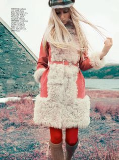 Over the Hills and Far Away - Kirsty Hume by Erik Madigan Heck for Harper's Bazaar UK September 2015 - Sonia Rykiel