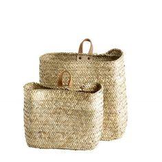 Tine K Home handmade hanging baskets - set of 2 – 2 Find and Design
