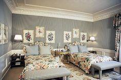 Valentino's home in Rome by Renzo Mongiardino