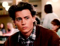 Johnny Depp in 21 Jump Street.