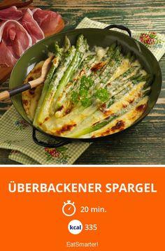 Überbackener Spargel - smarter - Kalorien: 335 Kcal - Zeit: 20 Min. | eatsmarter.de
