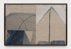 Double 1 (tent), oil on linen board, Emily Ferretti