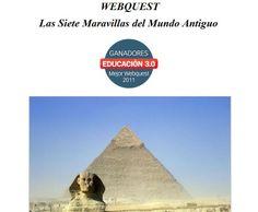 WebQuest, Las siete maravillas del Mundo Antiguo.
