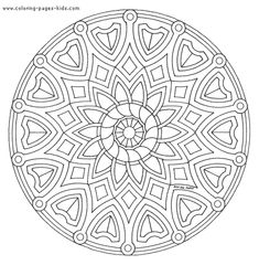 Mandala color page, coloring pages, color plate, coloring sheet,printable coloring picture