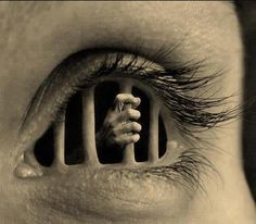 "No page ...just a Compelling picture called ""Prisoner within yourself."" What negative thoughts and behaviours keep you prisoner?"