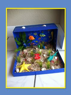 Get some ideas how to make a project for school. 3rd Grade.Ecosystem.