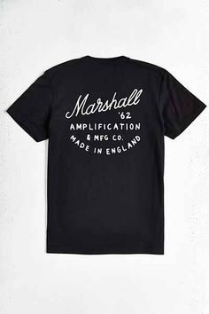 Marshall Amplification Slant 62 Tee - Urban Outfitters