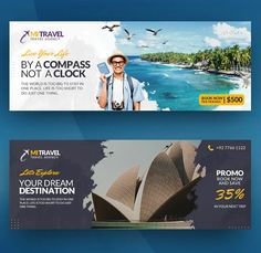 Facebook Layout, Facebook Cover Design, Facebook Cover Template, Facebook Banner, Facebook Timeline, Travel Ads, Travel Tours, Travel Agency, Travel Posters