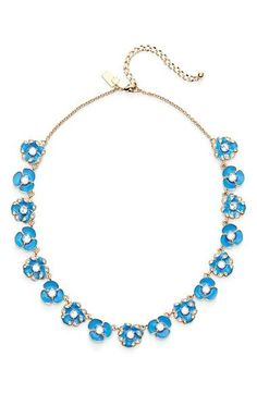 kate+spade+new+york+'beach+house+bouquet'+collar+necklace+available+at+#Nordstrom