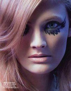 crystal tonic | Wings makeup, angel makeup crystal tonic