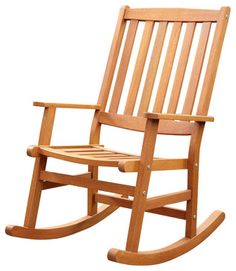 Home Styles Bali Hai Outdoor Rocking Chair in Eucalyptus Finish transitional-rocking-chairs