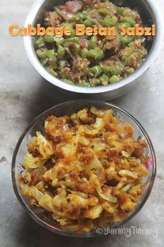 Cabbage sabzi is one dish which i made few days back and it turns out yummy. You can serve it with rasam rice, sambar rice or curd rice. Fried Fish Recipes, Veg Recipes, Curry Recipes, Vegetarian Recipes, Cooking Recipes, Recipies, Vegetarian Options, Spicy Recipes, Drink Recipes