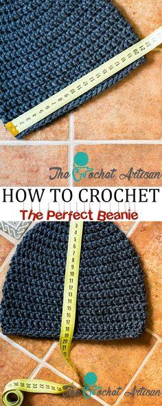 The Crochet Artisan: How to Size Crochet Beanies