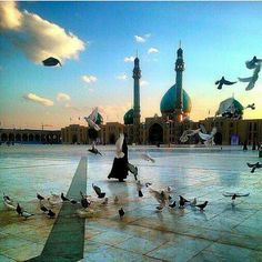 مسجد جمكران في ايران..❤