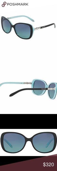 Tiffany and Co Sunglasses In new condition without tags. No scratches or wear. Purchased for $380 at Sunglass hut. Comes with glasses, both soft and hard case, original box, polishing cloth and certification of authenticity Tiffany & Co. Accessories Sunglasses