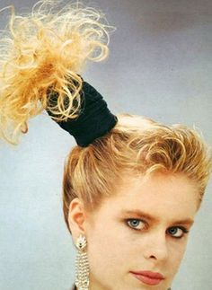 Terrible 1980s hairstyles are a continuing source of humour for all subsequent generations. At the time, we seriously thought we looked the business.