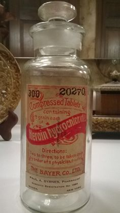 rare-antique-bayer-heroin-300-tablet  Boy this would help you sleep too.