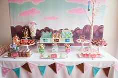 Little Big Company | The Blog: Super Cute Wreck It Ralph Party by Imagine Event Styling Sugar Rush dessert table at our Wreck It Ralph party
