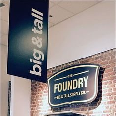 Foundry Big & Tall Vertical Banner
