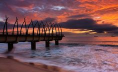 Beloved Continent --- Umhlanga Pier, Durban South Africa You are in the right place about beauty hou South Africa Beach, African Holidays, Safari, House Of The Rising Sun, House Of Beauty, Kwazulu Natal, Pretoria, Africa Travel, Continents