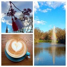 After enjoying a wonderful walk through Wiesbaden, enjoying an awesome cappuccino at Du&Ich.  #instagood #instacoffee #enjoying #life #love #heart #afternoon #coffee #cappuccino #latteart #awesome #photooftheday #spring #duundichwiesbaden #kaffee #liebe #herz #leben #frühling #fotodestages #picstitch #regenbogen #rainbow #springbrunnen #fountain