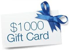Websaver Contest - Win $1000 Gift Card 1000 Gifts, Giveaway, January, Canada, Holiday, Vacations, Holidays, Vacation, Annual Leave