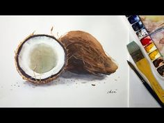 Foundation Course in Watercolor 8 - Banana 基礎水彩示範 - 香蕉 - YouTube