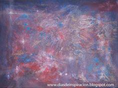 Nebulosa acrílico sobre lienzo.