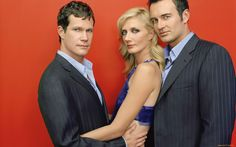"""Dylan Walsh, Joely Richardson and Julian McMahon in """"Nip/Tuck"""" (TV Series) Julian Mcmahon, Best Tv Shows, Best Shows Ever, Favorite Tv Shows, Movies Showing, Movies And Tv Shows, Tv Vintage, Joely Richardson, Vanessa Redgrave"""