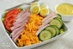 Chef's Salad with Honey Mustard Dressing   Community Post: 12 Manly Salads For Father's Day