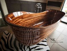 Amazing tub by NK Woodworking Seattle