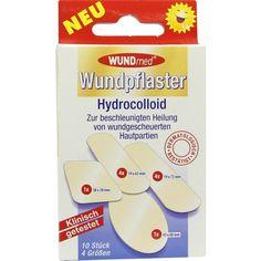 WUNDPFLASTER Hydrocolloid 4 Groeßen:   Packungsinhalt: 10 St Pflaster PZN: 06910223 Hersteller: Axisis GmbH Preis: 1,24 EUR inkl. 19 %…