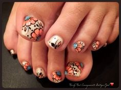 Flower-child toes