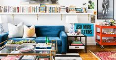 This hip Nashville home has the loft look on lock with an eclectic feel and major rock 'n' roll vibes.