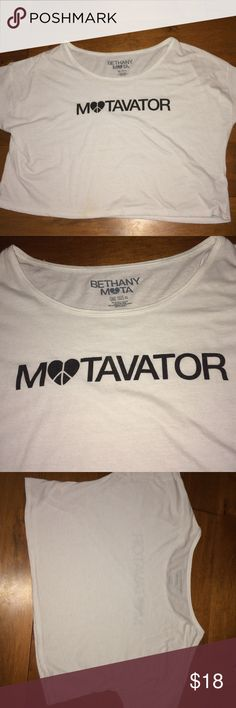 Motavator Bethany Mota Shirt Only worn a couple of times! Has a little stain on the bottom, but nothing a washer can't get out! Aeropostale Other