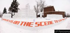 The completed statue by Tau Kappa Epsilon for the Michigan Tech 2013 Winter Carnival. Click for the interactive version.
