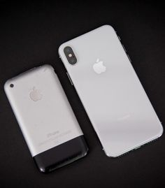 Ten years of iPhone. #iPhone2G #iphoneedge #iphoneX #Apple